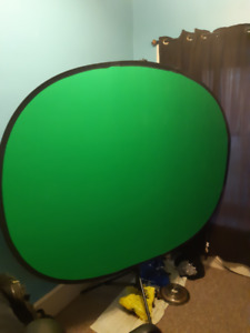 Green Screen & Lights for Twitch / Broadcasting