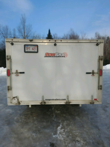 2015 sno pro inclosed trailer new tires great shape snowmobile m