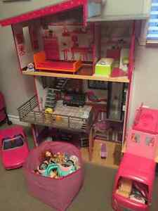 Barbie house and more