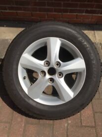 Mazda 3 Alloy and Tyre