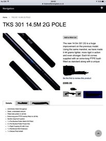 Map TKS 301 2G pole used once excellent condition