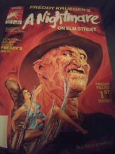 Freddy Krueger 1st edition 1989 comic