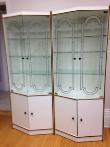 Display cabinets *price reduced*