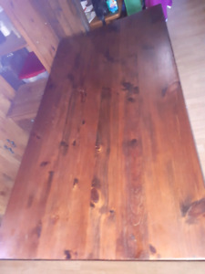 Pine harvest table for sale