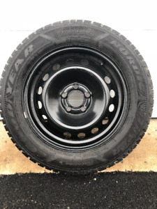 Goodyear Nordic Winter Tires On Rims 215/60R15