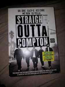 DVD  straight outta compton and Ted 2