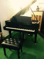 AUTOMATIC PLAYING PIANO*** 6ft Story & Clark in Polished Ebony