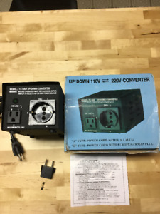 Up/Down 110V to/from 220V Power Converter