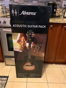 6 string alveraz acoustic guitar