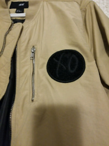 H and M SPRING Icons the Weeknd Bomber Size Men's Small