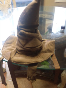 Harry Potter talking sorting hat