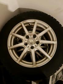 Goodyear 205/60 R16 wheels X4