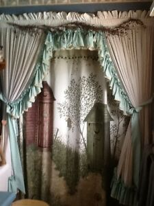 Bathroom Curtain's and Valances Kitchener / Waterloo Kitchener Area image 1
