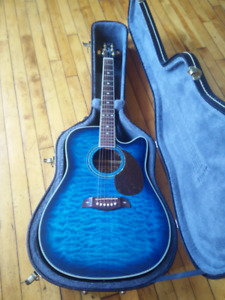 Lado Acoustic Electric Guitar - Case Included