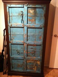 Rustic Distressed Armoire