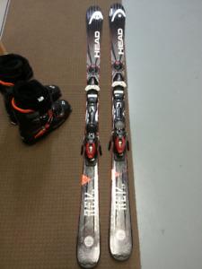 Head Rev 78 All Mountain Skis/bindings