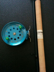 G LOOMIS ROD, 10' STEELHEAD ROD, FLOAT ROD, CENTERPIN REEL