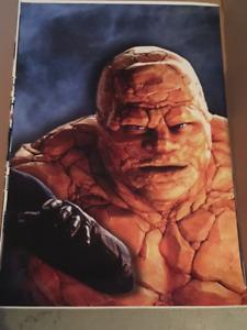 Fantastic Four Movie Poster Set