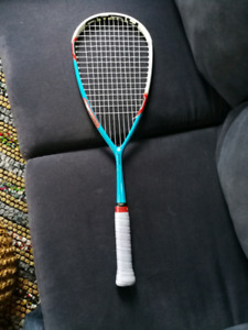 Two squash rackets for sale.