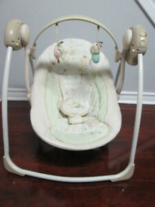 BRIGHTSTAR AUTOMATIC BABY SWING FOR SALE -