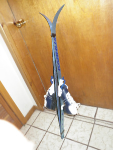 CROSS COUNTRY YOUTH 110 CM SKI PACKAGE, MONDO 21 BOOTS cc