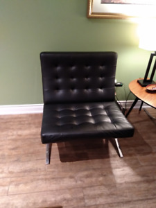 Black And Red Couch, GREAT Condition, only 249$ a piece