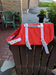 Canine life jacket bought for $41.49 plus tax