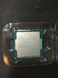 Intel i3-4170 2 core hyper threading @3.7 gHz (117USD msrp)