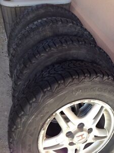Firestone P205-70R15 wheels and tires like new 2 SETS