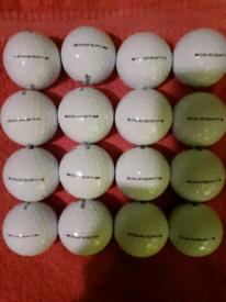 16 Golf balls (Wilson Staff DXT/DUO SOFT)