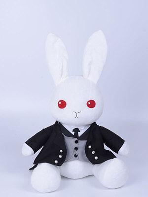 Black butler Kuroshitsuji Ciel Sebastian Cosplay Kostüm Hase Plüsch Figur Plush (Kostüm Black Butler Sebastian)