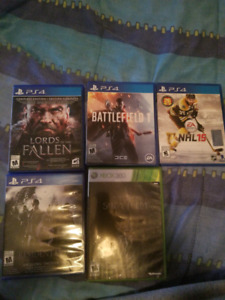 Ps4/xbox 360 games