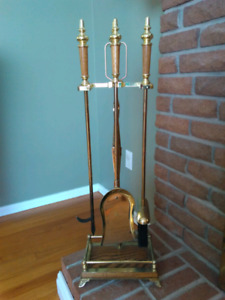 5pc Fireplace toolset