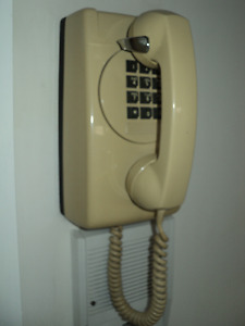 Touch Tone Wall Mount Telephone