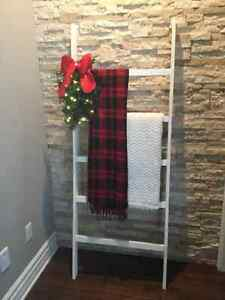 Holiday / Christmas Decor -- Rustic Blanket Ladder London Ontario image 1