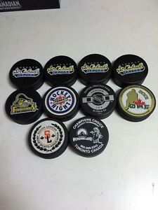 OHL& Misc Pucks