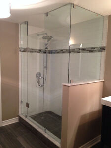 Frameless Shower Glass Doors Enclosures bathtubs - Mirrors etc. Kitchener / Waterloo Kitchener Area image 4