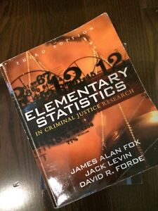 Elementary Statistics In Criminal Justice Research 3rd Edition