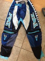 Motocross pants - youth And O'Neal shirt