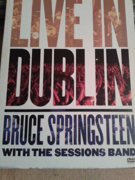 Bruce Springsteen With The Sessions Band - Live In Dublin ..dvd ,07