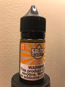 Vape E-Juice Keep It 100 Salts - Mango 30ml (40 mg)