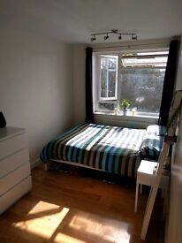 Bright, furnished double room in Brockley!