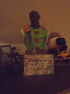 Gi Joe Roadblock mini bust
