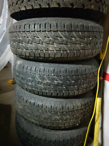 235 75 15 at tires like new