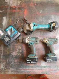 Drill/impact gun/grinder