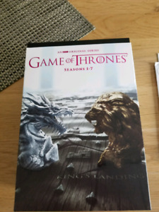Game of Thrones Seasons 1-7 DVDs
