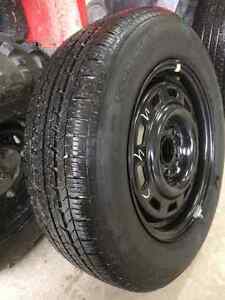 General 205/65r15 tire and wheel Prince George British Columbia image 2