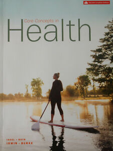 Core concepts in health 2nd Canadian edition Kitchener / Waterloo Kitchener Area image 1