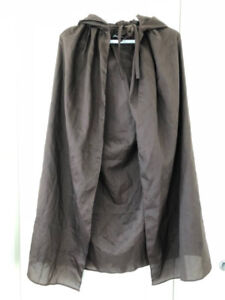 Brown Hooded Capes Costume Cosplay