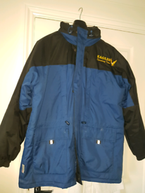 Speedway fan Eastbourne Eagles winter jacket.